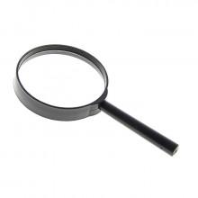Лупа «Классика», х5, d=75 мм, чёрная